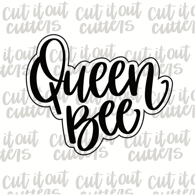 Queen Bee Cookie Cutter