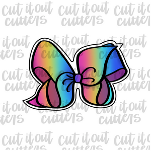 Rainbow Bow Cookie Cutter