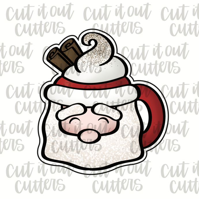 Santa Mug Cookie Cutter