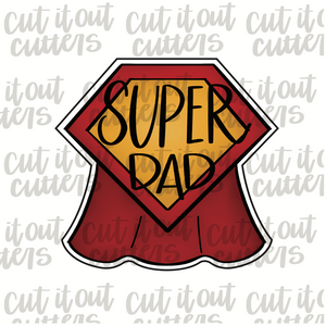 Super Dad Cookie Cutter