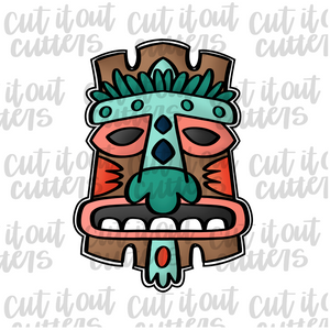 Tiki Man Cookie Cutter