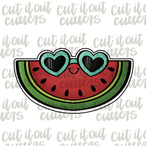 Watermelon & Sunnies Cookie Cutter