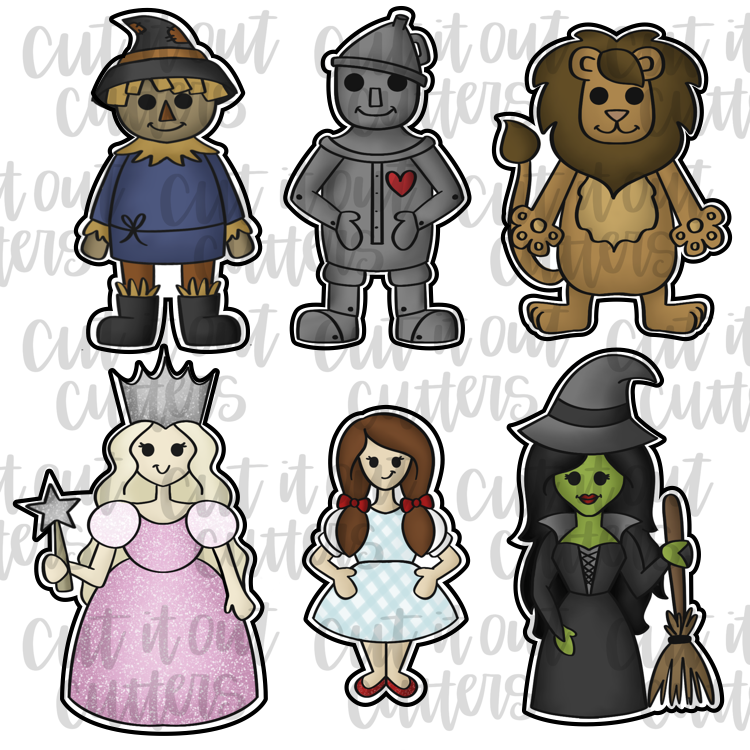 Wizard - Full Body Cookie Cutter Set