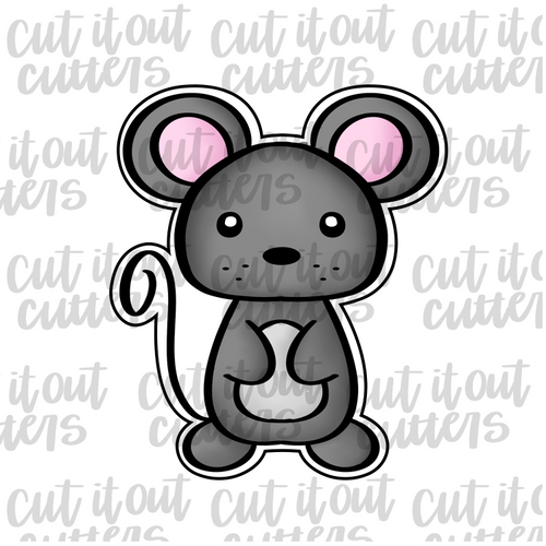 Woodland Mouse Cookie Cutter