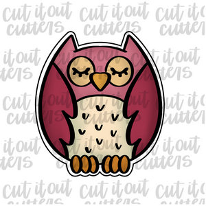 Woodland Owl Cookie Cutter