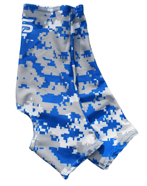 Neo X3 Camo Cleat Spat - Royal/Charcoal/White