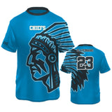 Chiefs Style Crew Shirt