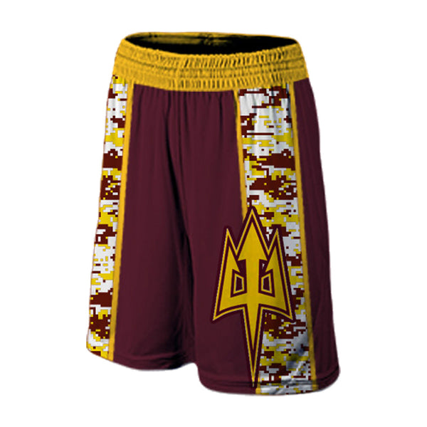 Camo 2 Style Custom Team Athletic Shorts