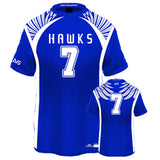 Hawks Style Custom Flag Football Jersey