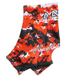 Neo X3 Camo Cleat Spat - Red/Black/White