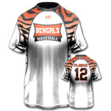 Tigers Style Custom Flag Football Jersey