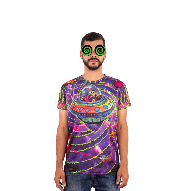 CAMISETA MAD TRIBE - OUT OF THIS WORLD
