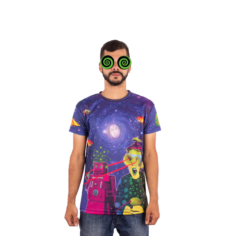 CAMISETA MAD TRIBE - SPACED OUT