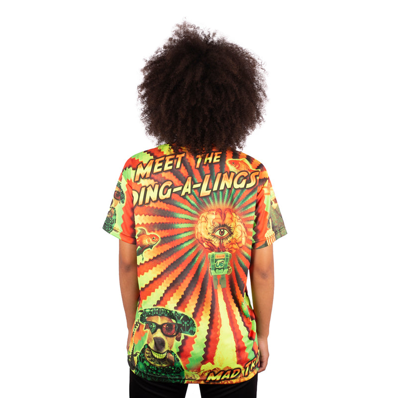CAMISETA MAD TRIBE - DING-A-LINGS