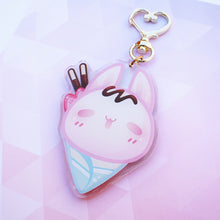 Load image into Gallery viewer, Usagi Crepe Keychain