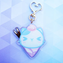 Load image into Gallery viewer, Neko Crepe Keychain