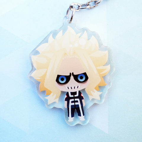Smol Might PE Outfit Keychain