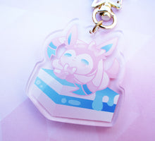 "Load image into Gallery viewer, 2"" Sylveon Keychain"