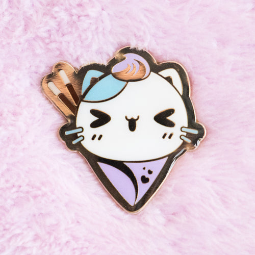 Calico Neko Crepe Pin