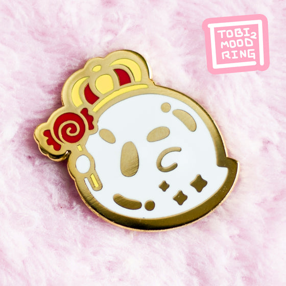 King Boo - Mini Halloween Pin