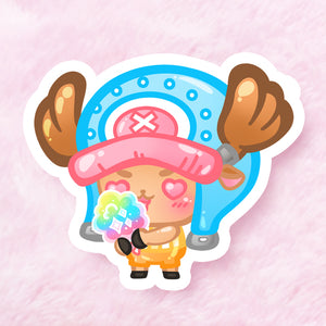 Chopper Vinyl Sticker