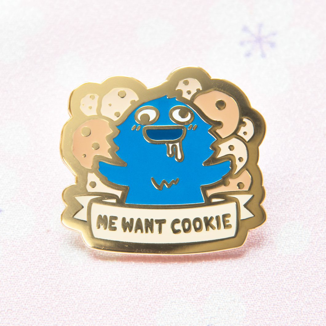 Cookie Monster Pin