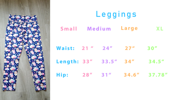 Japanese Foods - Leggings