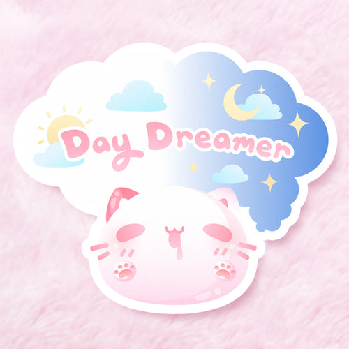 Day Dreamer Vinyl Sticker