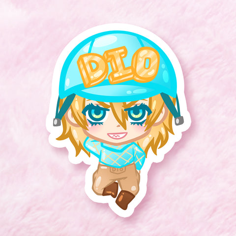 Diego Vinyl Sticker