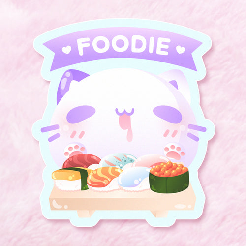 Foodie Vinyl Sticker