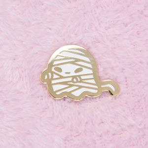 Mummy Ghost Mini Pin