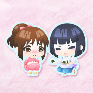 Spirited Away Onigiri Vinyl Sticker
