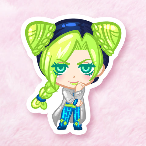 Jolyne Vinyl Sticker