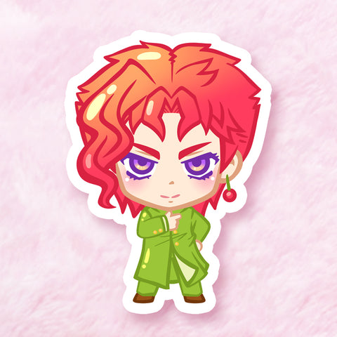 Kakyoin Vinyl Sticker