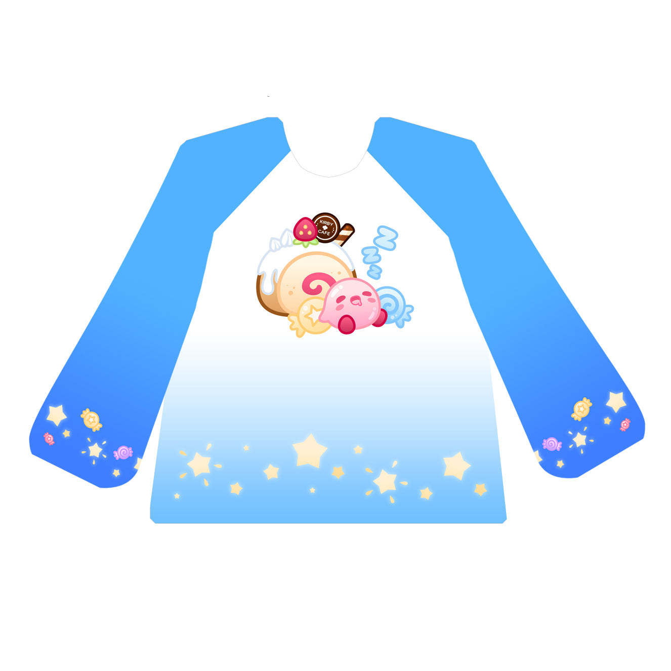 Kirby Sweet Dreams Sweatshirt - BLUE