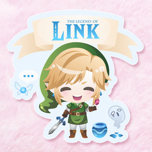 Legend of Link Vinyl Sticker