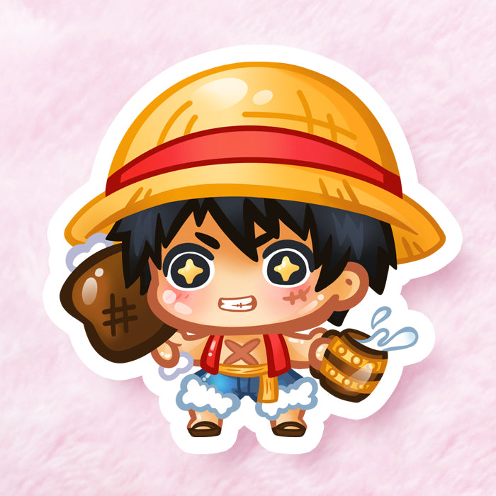 Luffy Vinyl Sticker