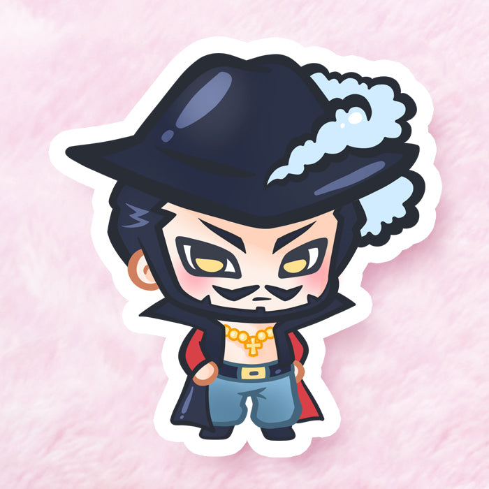 Mihawk Vinyl Sticker