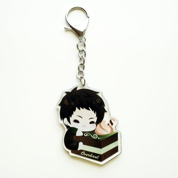 Overhaul Cake Keychain