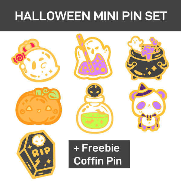 Halloween Mini Pin Set