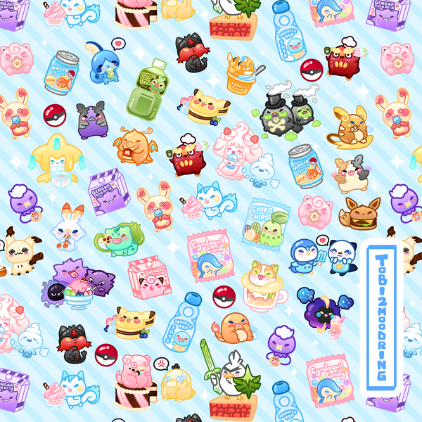 PokeSweets Jacket - BLUE