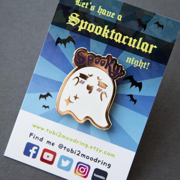 Spook-tacular Pin