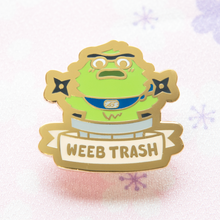 Weeb Trash Oscar Pin