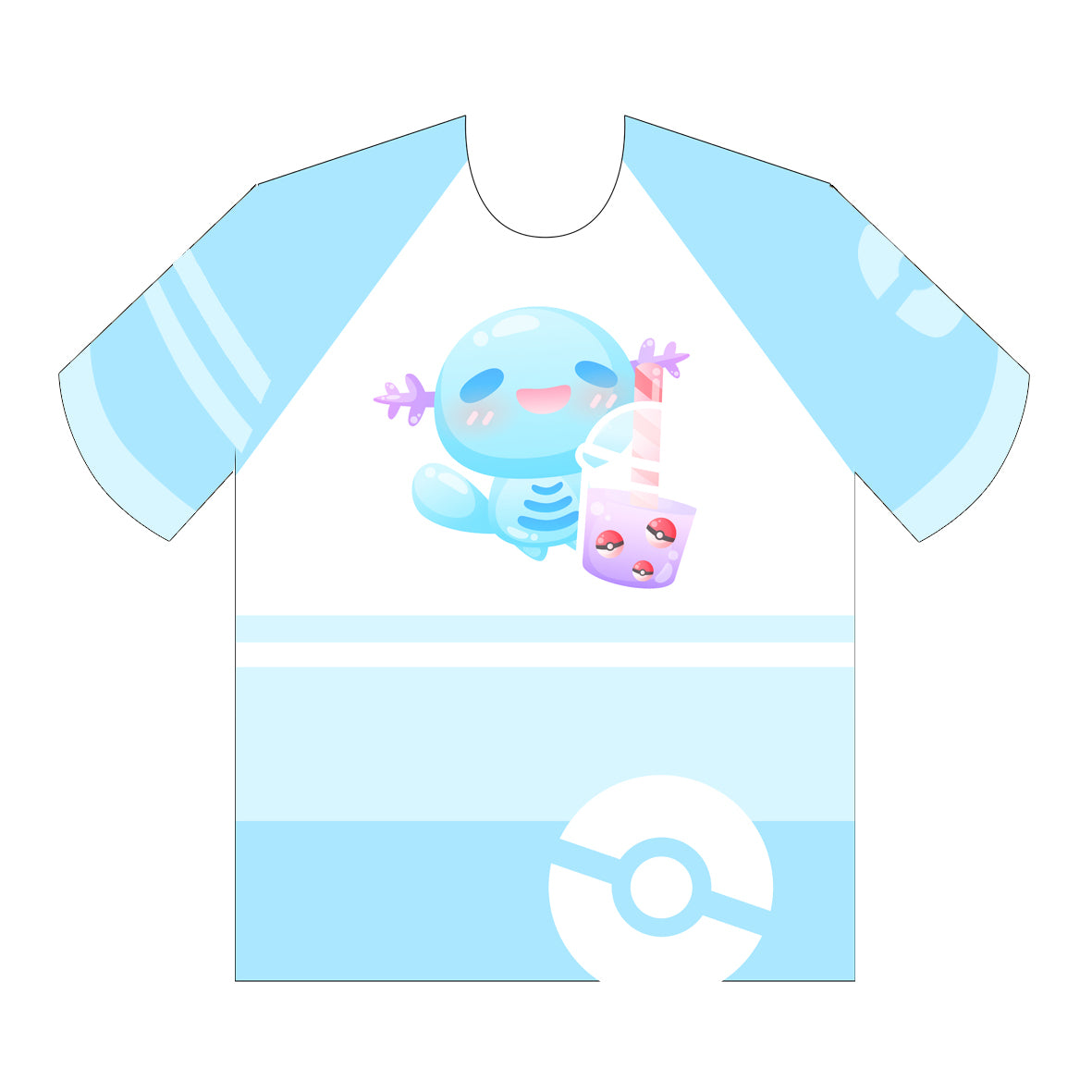 Wooper Boba Tea - T-shirt