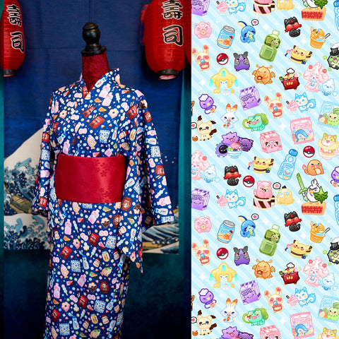 Pokesweets Light Blue - Yukata