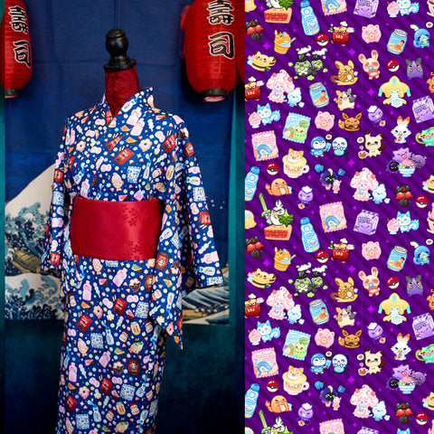 Pokesweets Dark Purple - Yukata