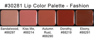 fashion lip palette