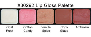 satin gloss lip palette