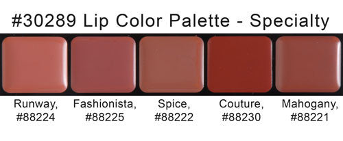 specialty lip palette
