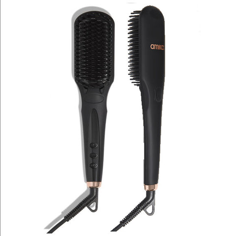 Amika Polished Perfection Thermal Straightening Brush (Special Order)